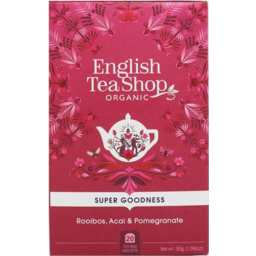 Photo of English Tea Shop Rooibos Acai Pomegranate 30g