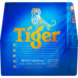 Photo of Tiger 330ml Bottles 12 Pack