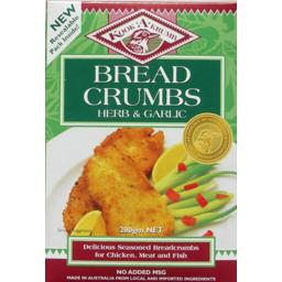 Photo of Brd Crmbs G/F Herb & Garlic 200g