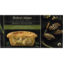 Photo of Herbert Adams Gourmet Baker's Selection Chicken & Leek In Creamy Camembert Sauce 12x420g