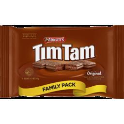 Photo of Arnotts Tim Tam Original Chocolate Biscuits Family Pack 330g