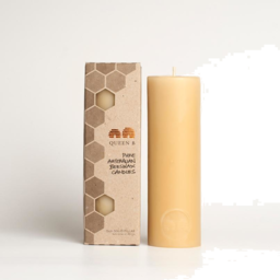 Photo of Queen B Candles (Beeswax) - Solid Pillar