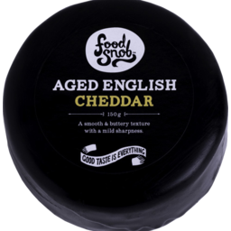 Photo of Food Snob Aged English Cheddar 150g