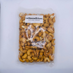 Photo of Lamanna&Sons Salted Cashews 400g