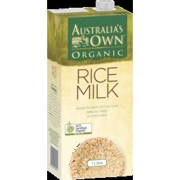 Photo of Australia's Own Organic Rice Milk 1l