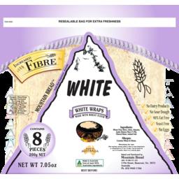 Photo of Mountain Bread White Fibre 200g
