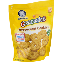 Photo of Gerber Graduates Arrowroot Cookies