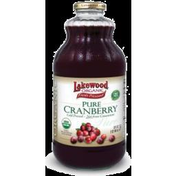 Photo of Lakewood Organic Pure Cranberry Juice