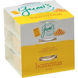 Photo of Yumis Hommus Dip 3 Pack 195g