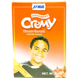 Photo of J.F. Mills Creamy Wheat Cereal Strawberry