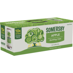 Photo of Somersby Apple Cider Can 375ml 10 Pack