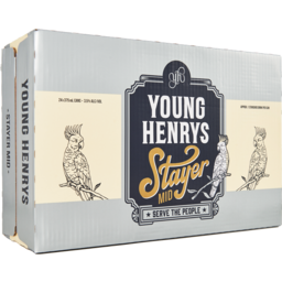 Photo of Young Henrys Stayer Hoppy Mid Lager Cans