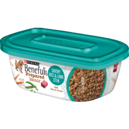 Photo of Beneful Dog Food Prepared Meals Savoury Rice & Lamb Stew 283g