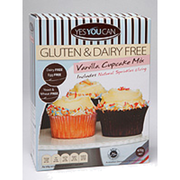 Photo of Yes You Can Gluten Free Cupcake Mix-Vanilla 470g