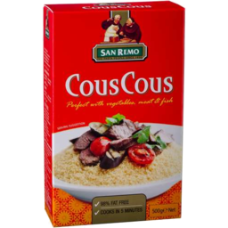 Photo of San Remo Cous Cous 500gm