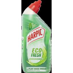Photo of Harpic Eco Fresh Biodegradable Eucalyptus Fragrance With Plant Based Vinegar Toilet Cleaner 500ml