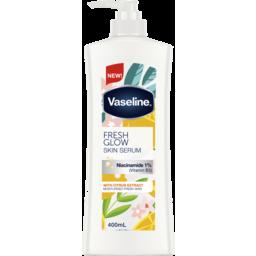 Photo of Vaseline Body Lotion Fresh Glow Skin Serum With Niacinamide 1%Vitamin B3) 400ml