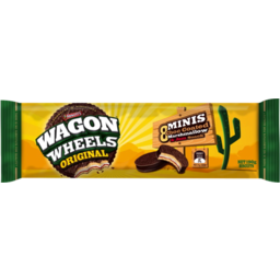 Photo of Arnotts Wagon Wheels Original Minis Chocolate Biscuits 190g