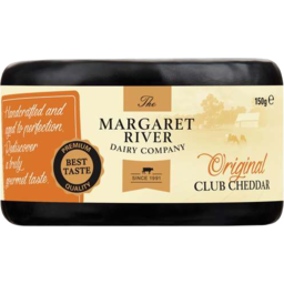 Photo of The Margaret River Cheese Original Club Cheddar (150g)