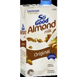 Photo of Sanitarium So Good Long Life Original Almond Milk 1l