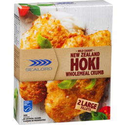 Photo of Sealord Hoki Wholemeal Fillet 2s 300gm