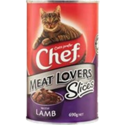 Photo of Chef Can Cat Sliced Lamb 690g