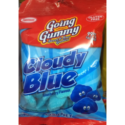Photo of Going Gummy Cloudy Blue Blueberry Flavour 125gm