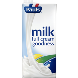 Photo of Pauls Full Cream Longlife Milk 1l