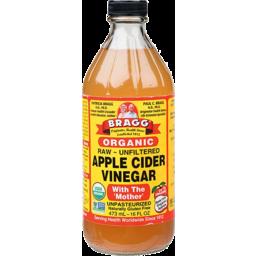 Photo of Bragg Vinegar - Apple Cider (Raw Unfiltered)