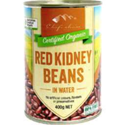 Photo of Chefs Choice Organics Red Kidney Bean 400g