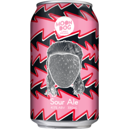 Photo of Moon Dog Jean Strawb Van Damme Sour Ale Can