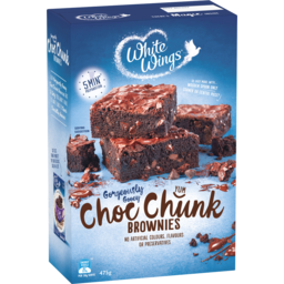 Photo of White Wings Gorgeously Gooey Choc Chunk Brownies 475g
