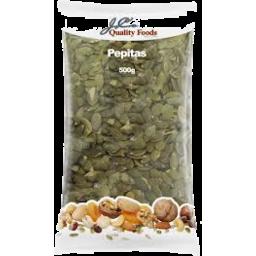 Photo of J.C.'S Pepitas (Pumpkin Seeds) 500g