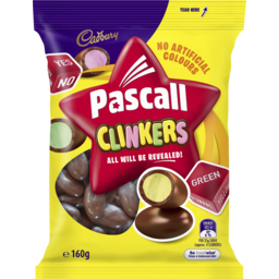 Photo of Pascall Cadbury Clinkers Lollies 160g