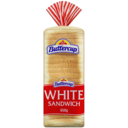 Photo of Buttercup White Sandwich Slice 650gm