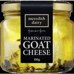 Photo of Meredith Dairy Marinated Goat Cheese 100g