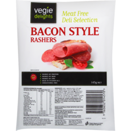 Photo of Vegie Delights Bacon Style Rashers 145g