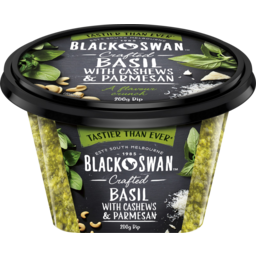 Photo of Black Swan Crafted Basil With Cashews & Parmesan Dip 200g