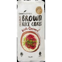 Photo of Ceres Organics Brown Rice Cakes - Quinoa