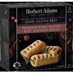 Photo of Herbert Adams King Island Beef Sausage Rolls 420g 12pk