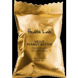 Photo of Health Lab Hello Peanut Butter Plant-Based Dessert Ball 30g