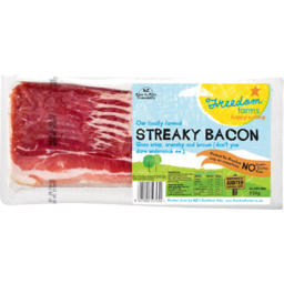 Photo of Freedom Farms Streaky Bacon 250g