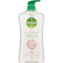 Photo of Dettol Shower Gel Body Wash Anti-Bacterial Rose 950ml