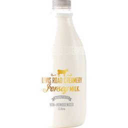 Photo of Lewis Road Jersey Non Homogenised 1.5l
