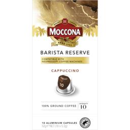 Photo of Moccona Espresso 10 Coffee Capsules 10pk