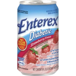 Photo of Enterex Diabetic Strawberry.