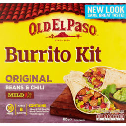 Photo of Old El Paso Burrito Kit 495g