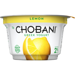 Photo of Chobani Lemon Greek Yogurt 170g