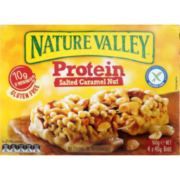 Photo of Nature Valley Protein Nut Bar Salted Caramel 160g