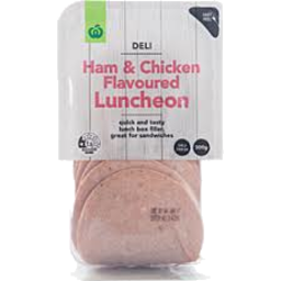 Photo of WW Sliced Ham & Chicken Luncheon 300g